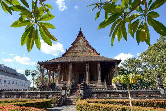 Wat Ho Phra Kaew in Vientiane