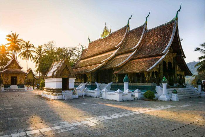 Wat Xieng Thong klooster in Luang Prabang