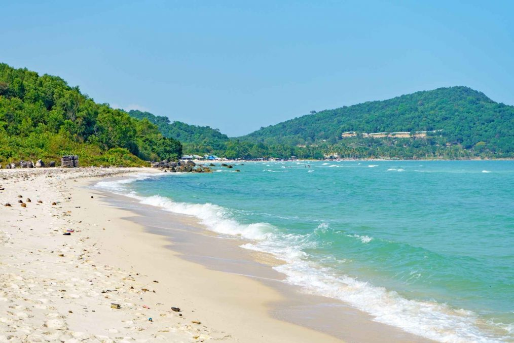 Bai Sao Beach op het eiland Phu Quoc