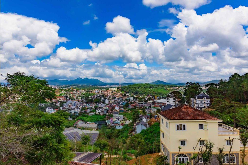 Da Lat en omgeving in Vietnam