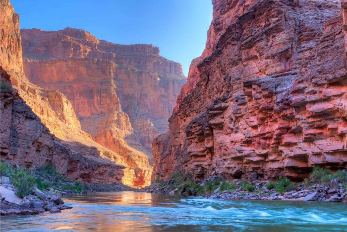 De Grand Canyon in Arizona, Amerika