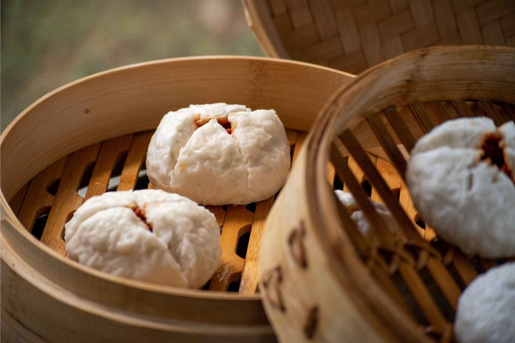 Gestoomde broodjes in China