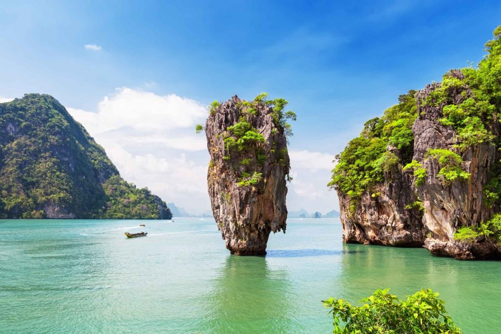 James Bond eiland bij Phuket