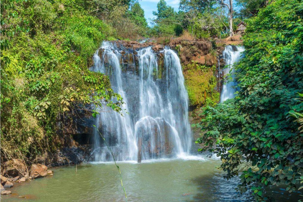 Kachanh waterval bij Banlung