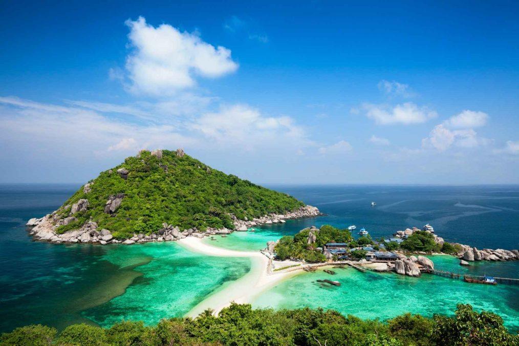 Ko Tao (Schildpadden eiland) in Thailand