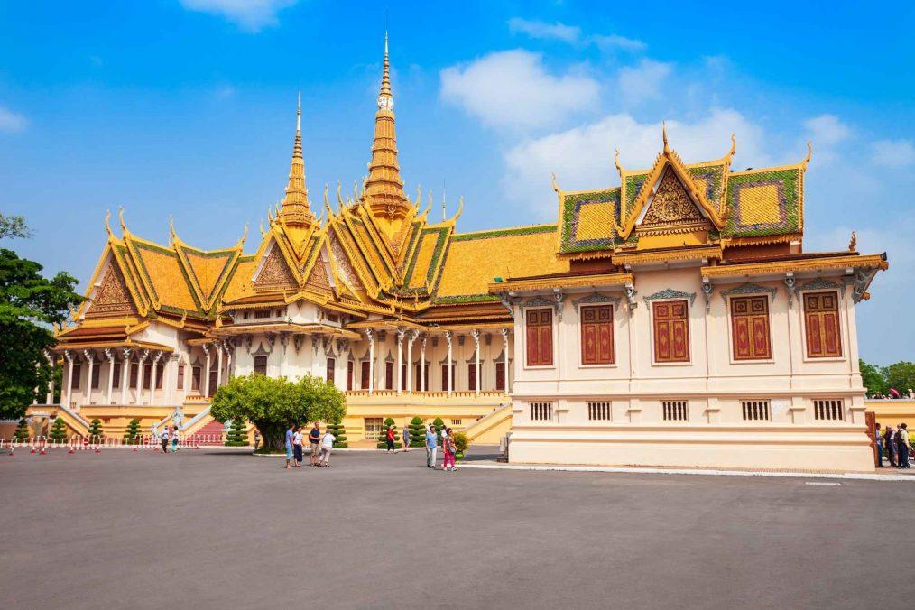 Koninklijke Paleis in Phnom Penh