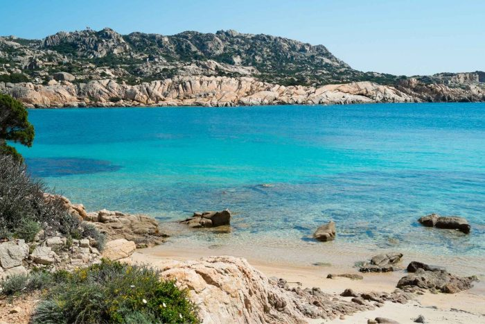 La Maddalena eiland bij Sardinië