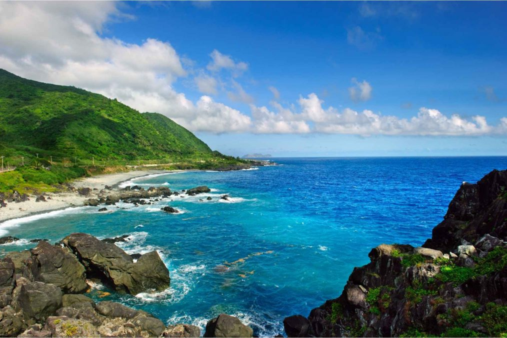 Lanyu eiland in Taiwan
