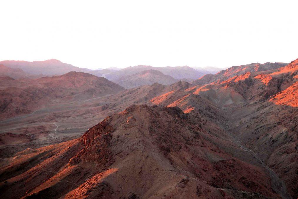 Maanlandschap van Sinai