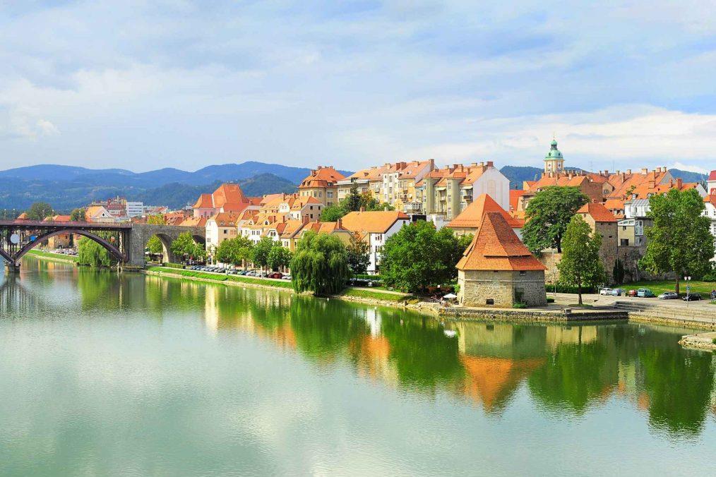 Maribor in Slovenië