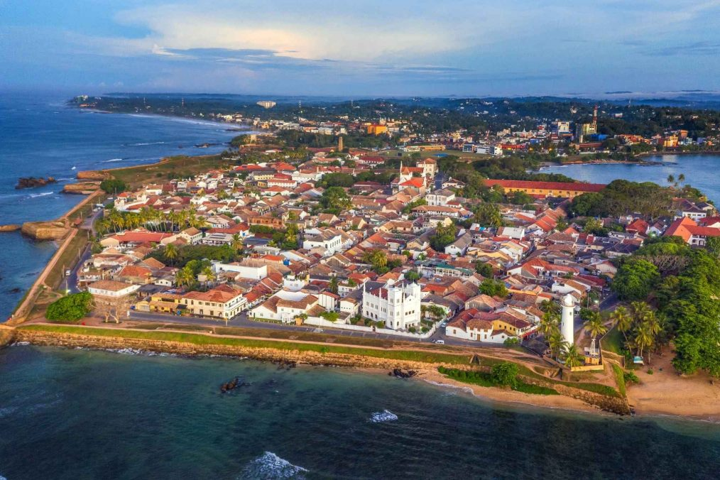 Nederlandse stad Galle in Sri Lanka