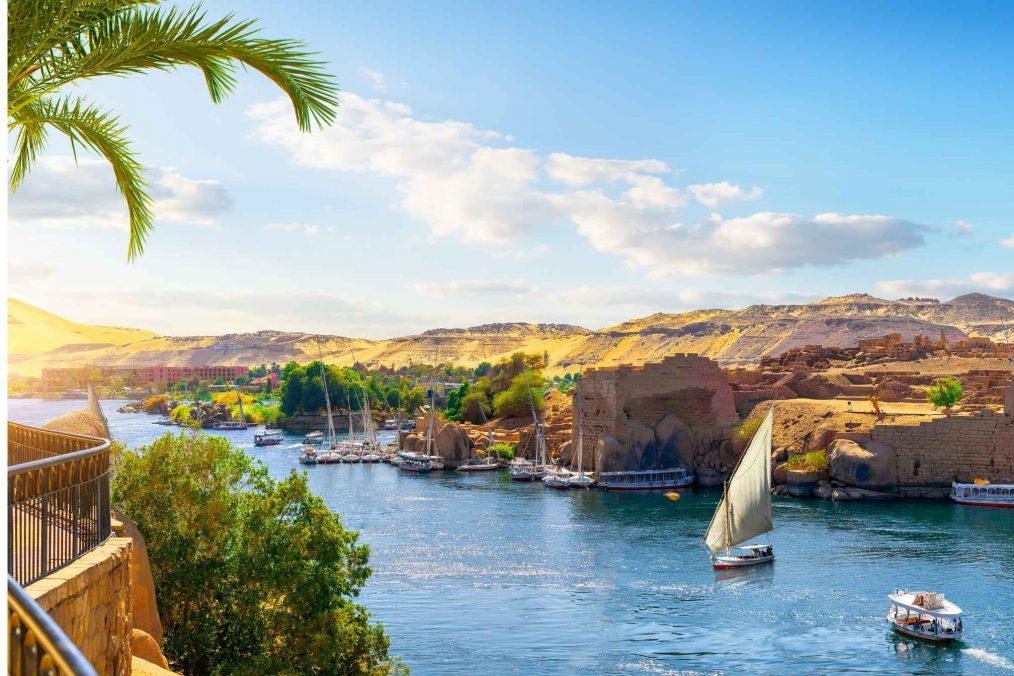 Nijlvallei bij Aswan