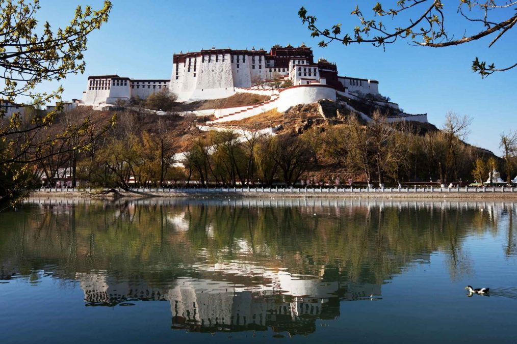 Potala Paleis in Tibet