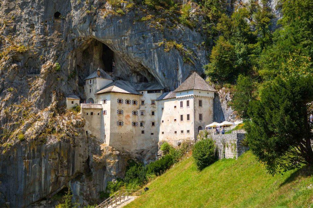Predjama Kasteel in Slovenië
