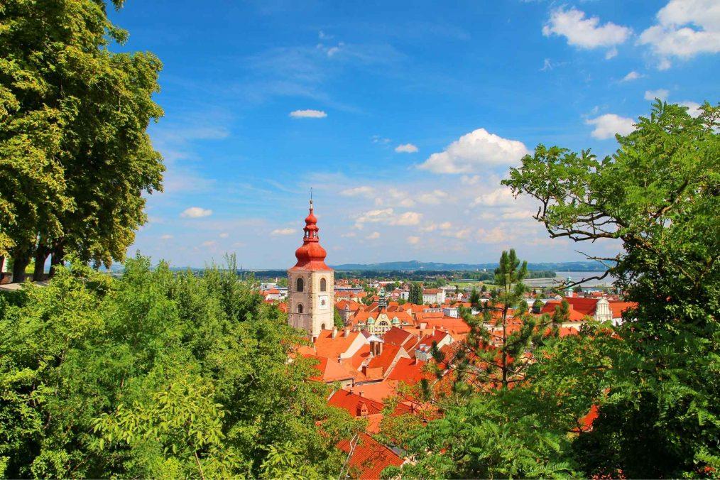 Ptuj in Slovenië