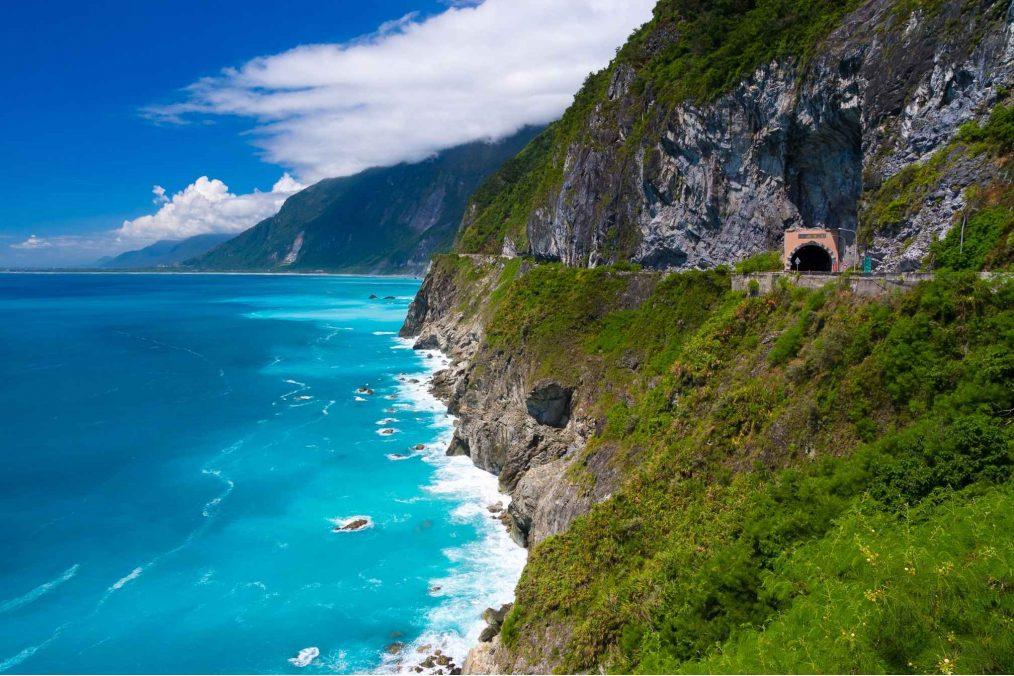 Qingshui kliffen op Taiwan