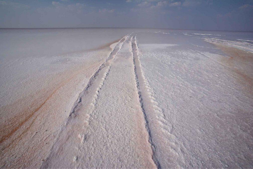 Rann of Kutch zoutvlakte