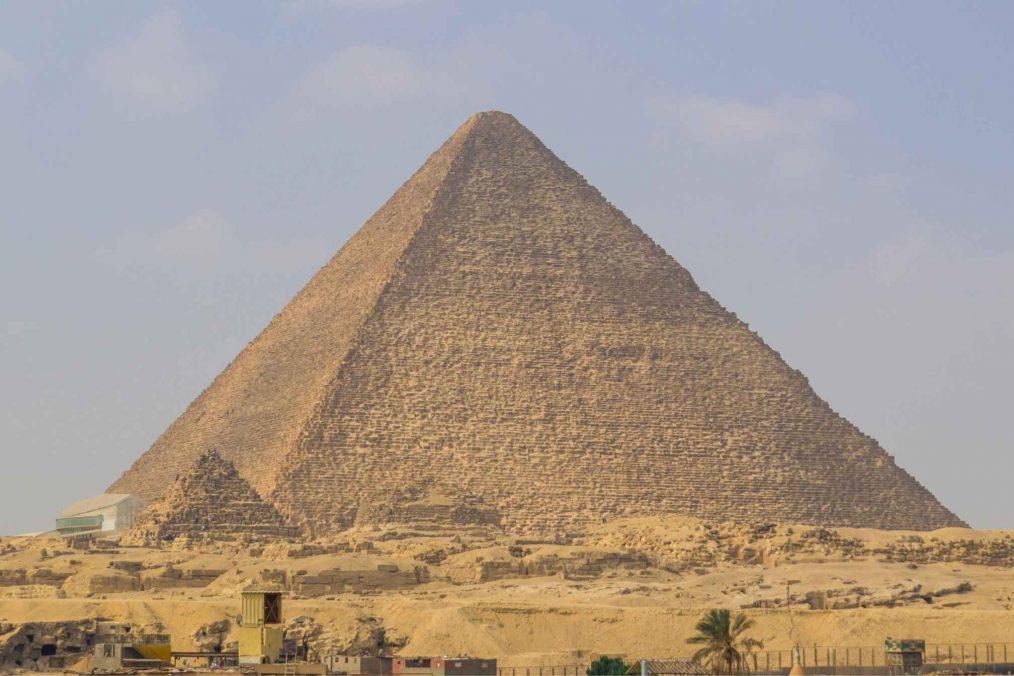 Rode Pyramide van Dasjoer (Dahshur)
