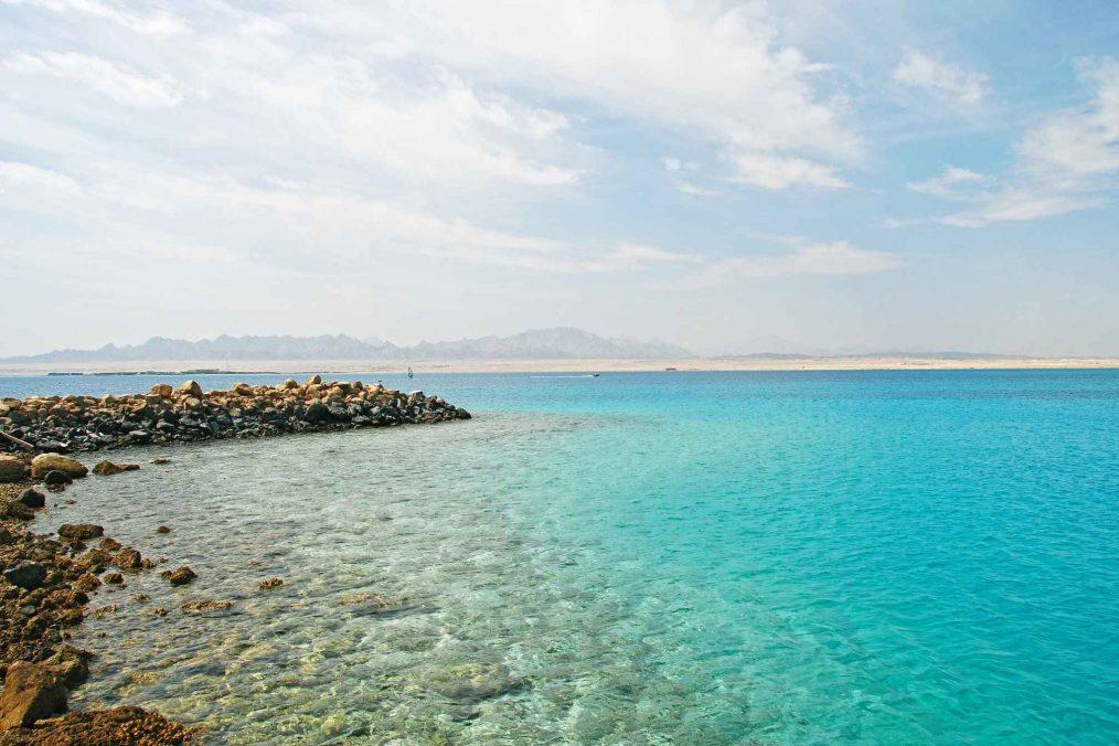 Rode Zee in Egypte