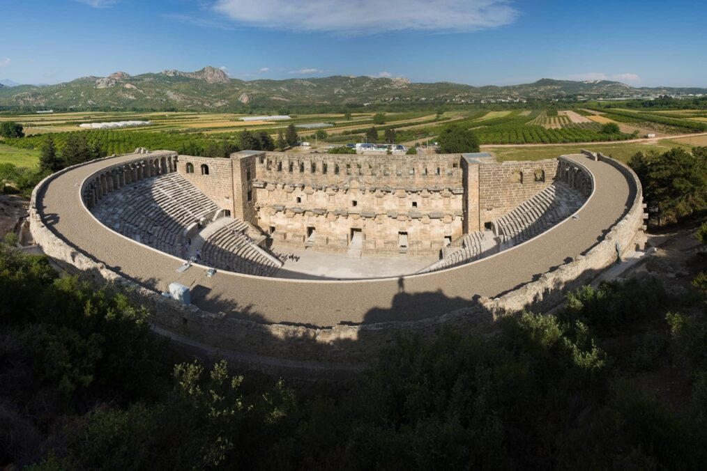 Romeins theater in Aspendos