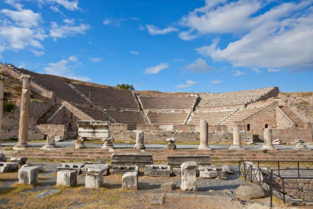 Ruïnes bij Pergamum