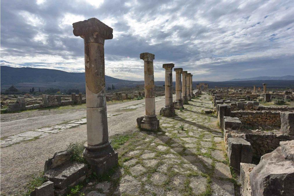 Ruïnes bij Volubilis