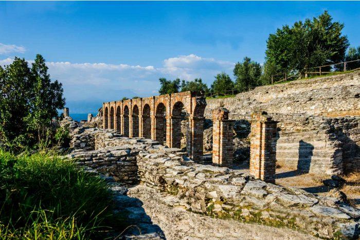 Ruïnes in Sirmione