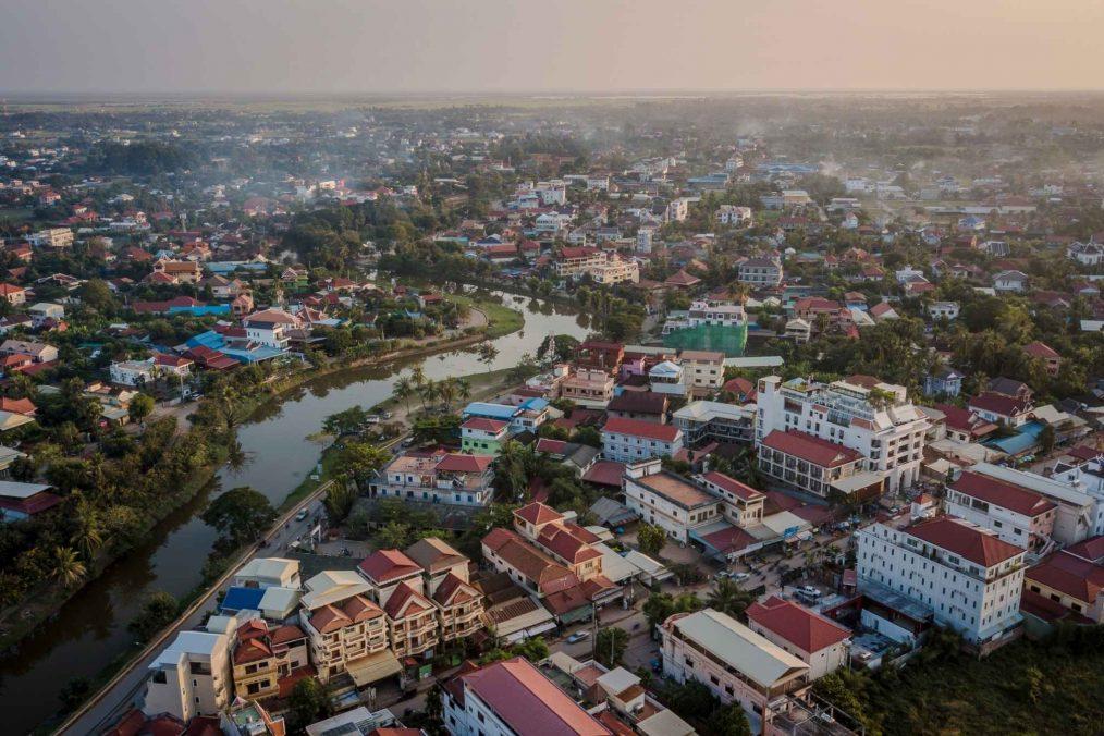 Siem Reap in Cambodja