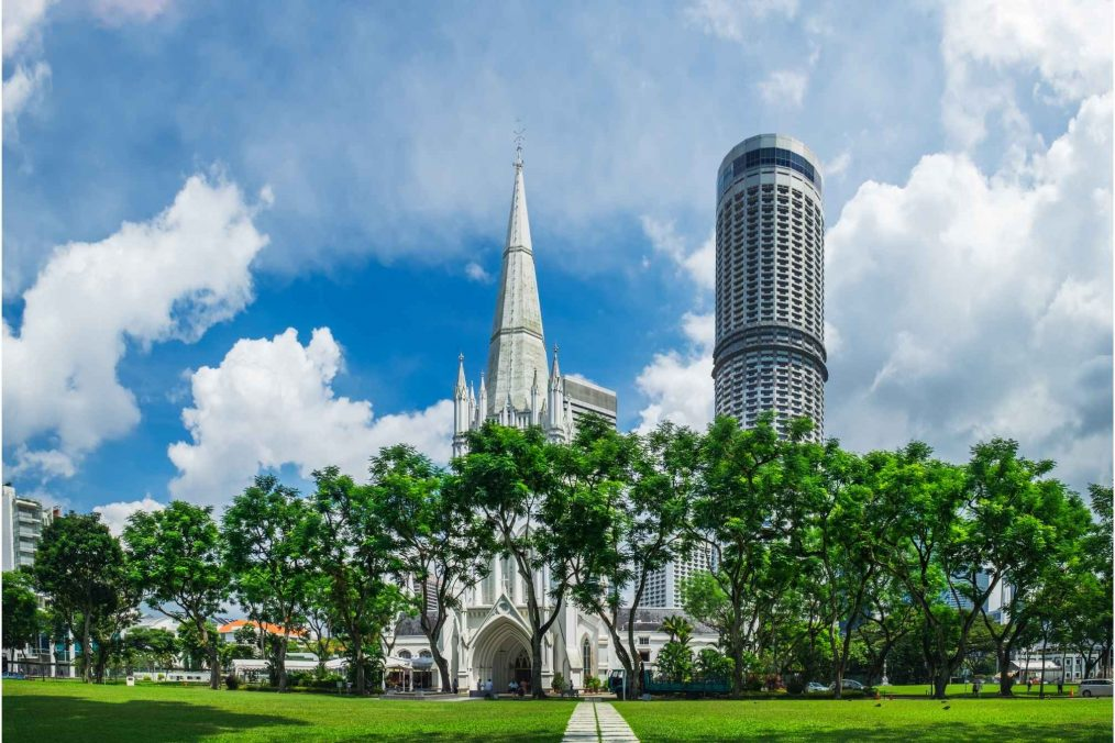St. Andrew's Kathedraal in Singapore