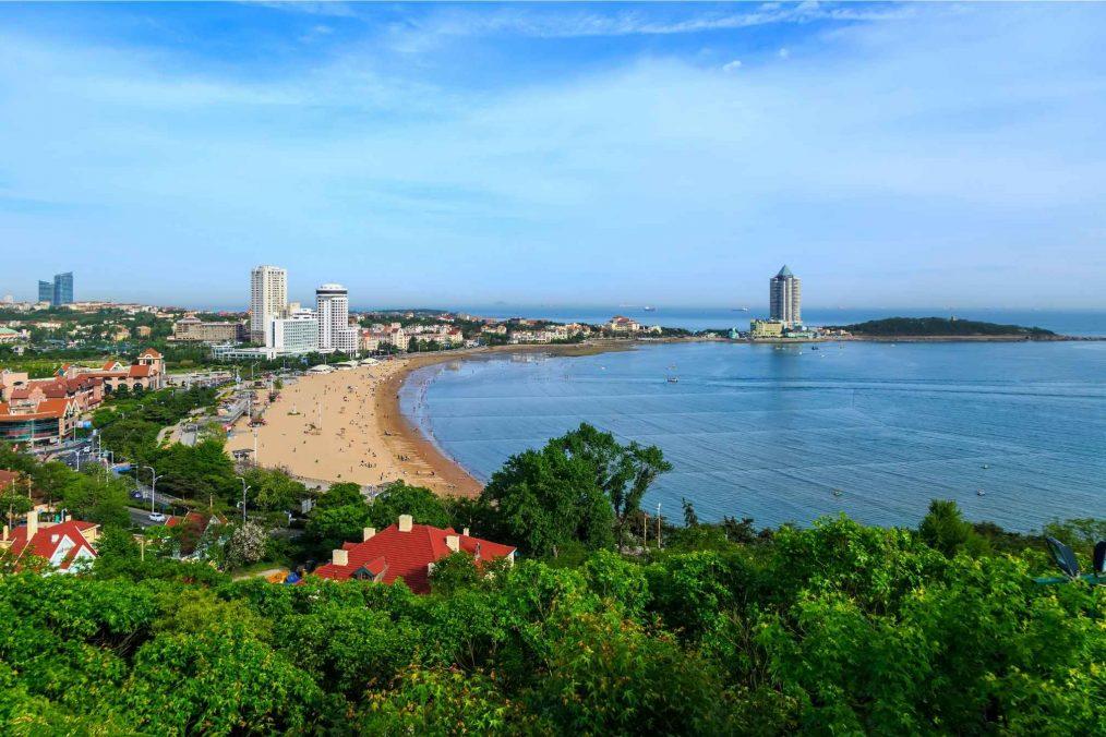 Strand bij Qingdao