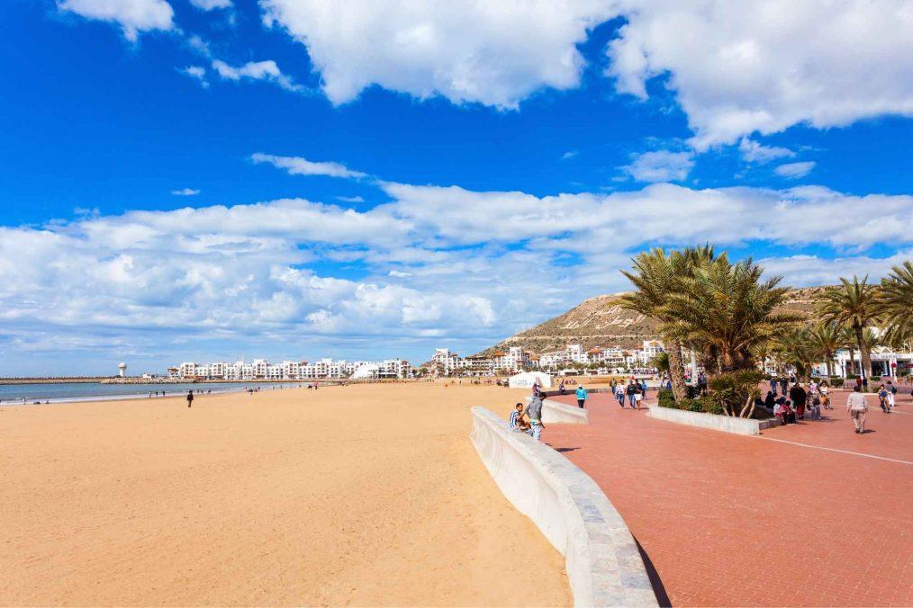 Strand van Agadir