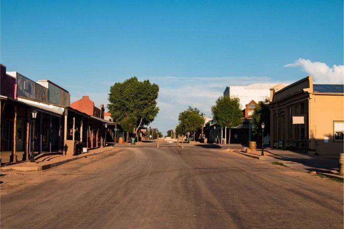 Tombstone in Arizona