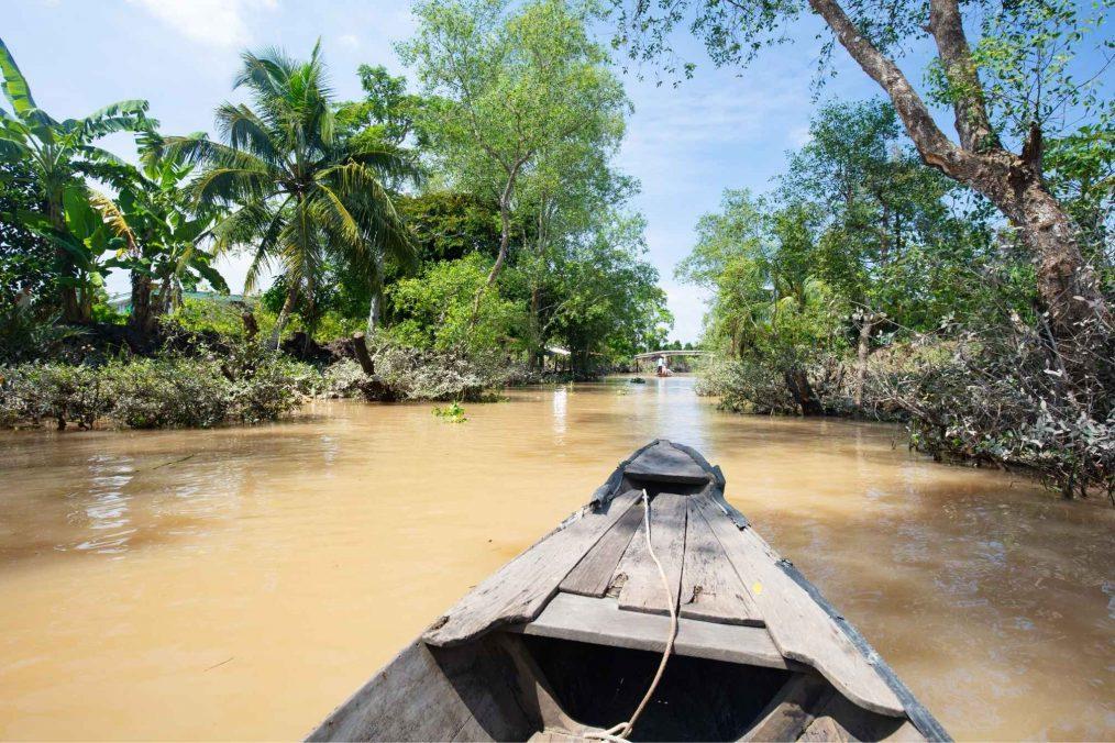 Tour door de Mekong Delta