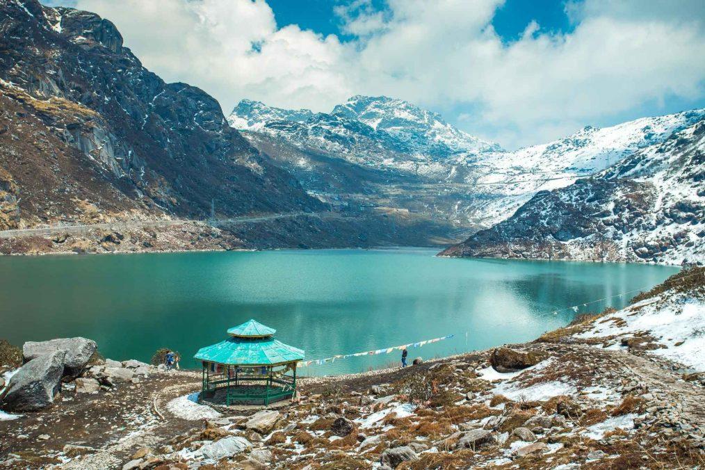 Tsangmo meer in Sikkim
