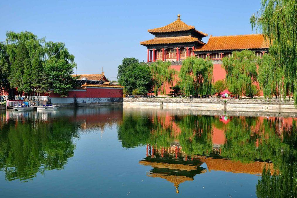 Verboden stad in Peking