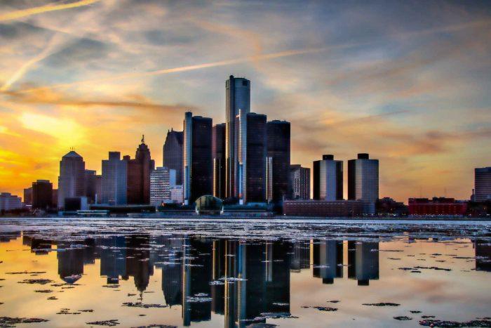 Detroit in Michigan (Verenigde Staten)