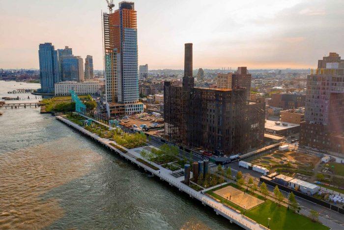 Domino Park in Brooklyn