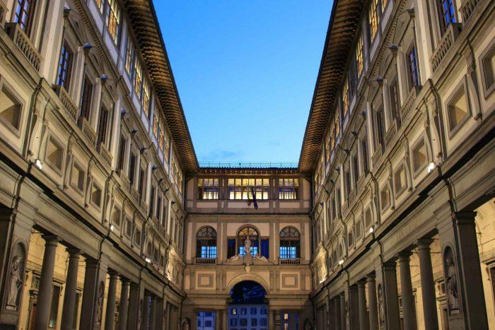 Galleria de Uffizi in Florence