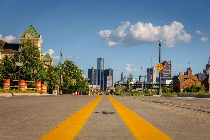 Op weg naar Detroit