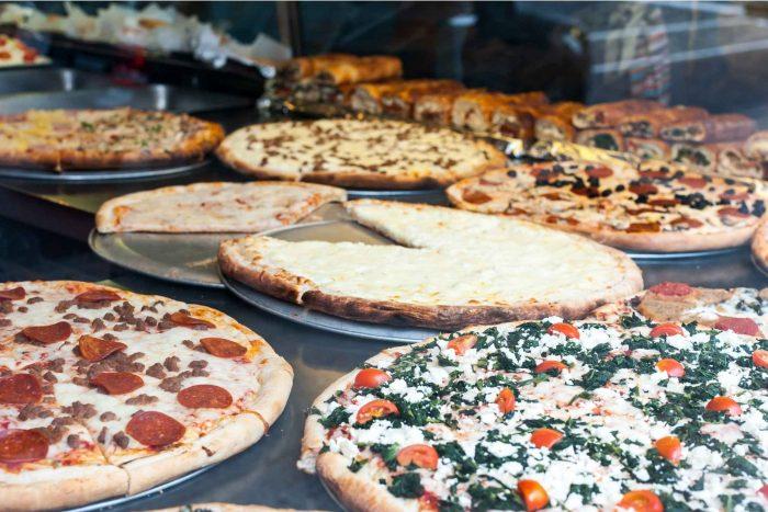 Pizza's in Brooklyn