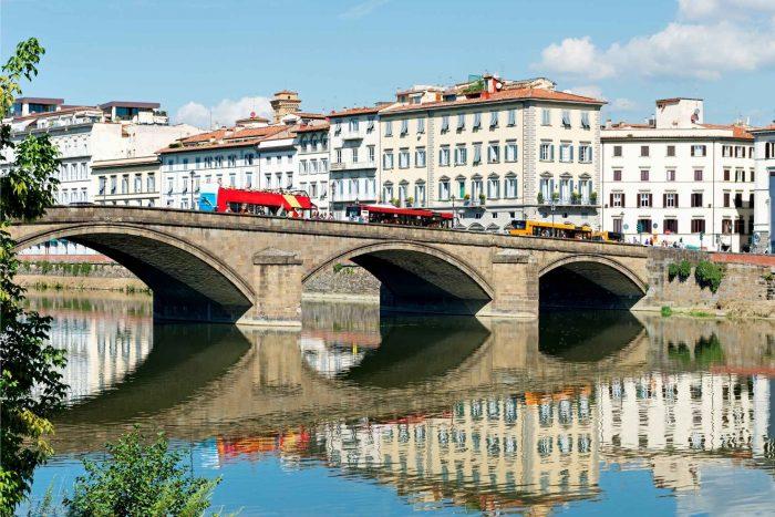 Rivier de Arno door Florence