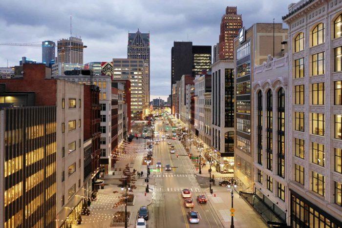 Straten van Detroit