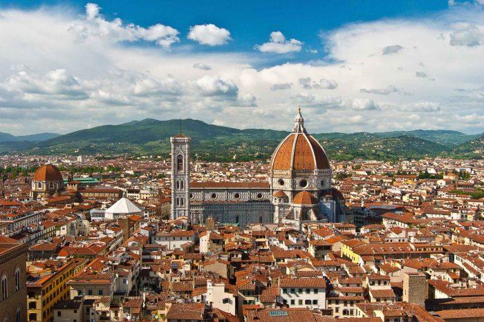 Uitzicht vanaf Il Duomo