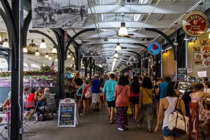 Markt in New Orleans