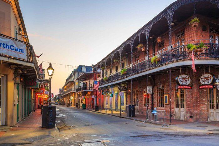 Pubs en Bars in de French Quarter van New Orleans