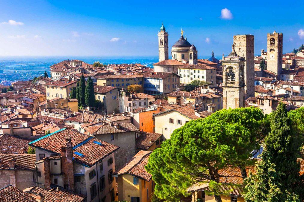 Bergamo in Lombardije