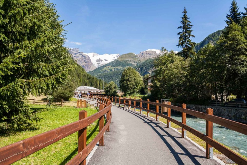 Champoluc in Valle D'Aosta
