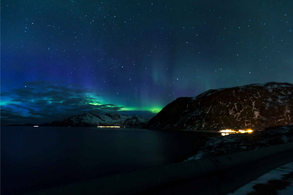 Het spectaculaire Noorderlicht bij Tromso