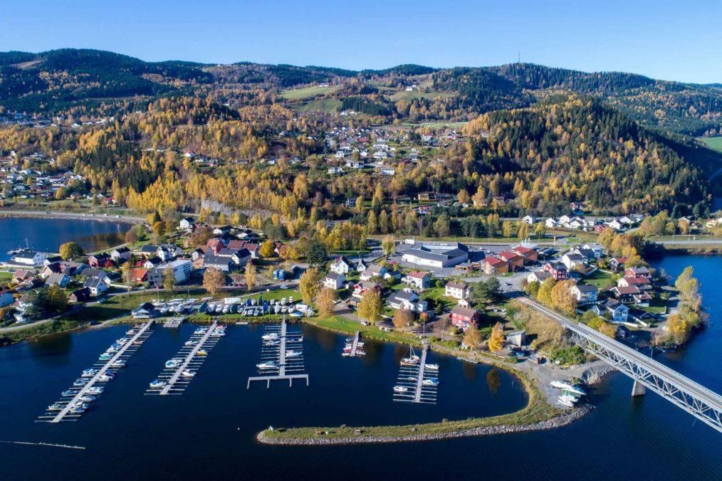 Lillehammer in Noorwegen
