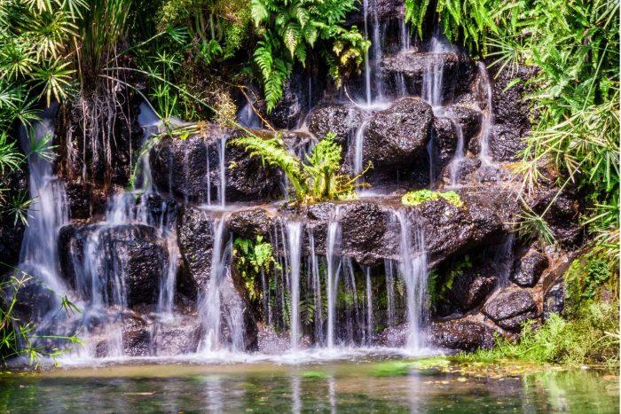 Suoi Mo- Hoa Bac watervallen bij Da Nang